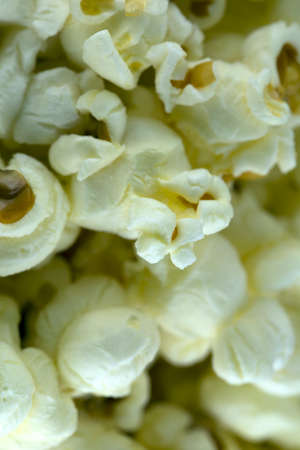 Pop corn background. Stockfoto