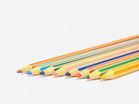 colored pencils Stok Fotoğraf - 129487003