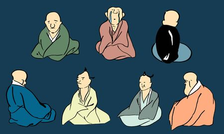 Person wearing kimono_01