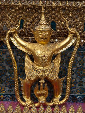 Golden Garuda in Grand Palace Thailand photo