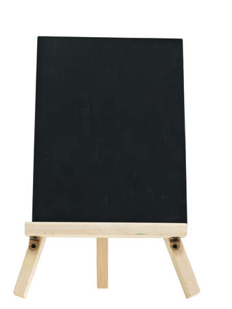 empty blackboard with tripod wooden Stock Photo - 9171536