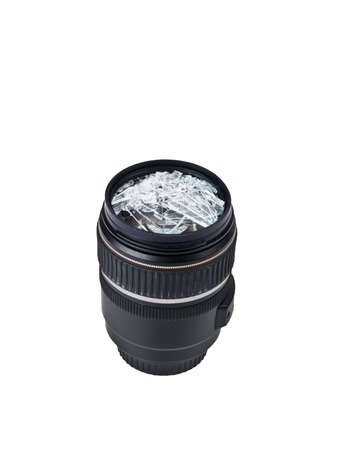 broken lens Stock Photo - 9171528