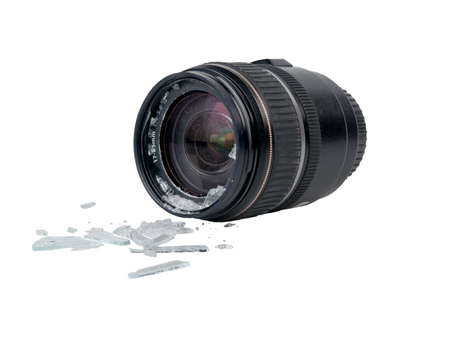 broken lens Stock Photo - 9171538