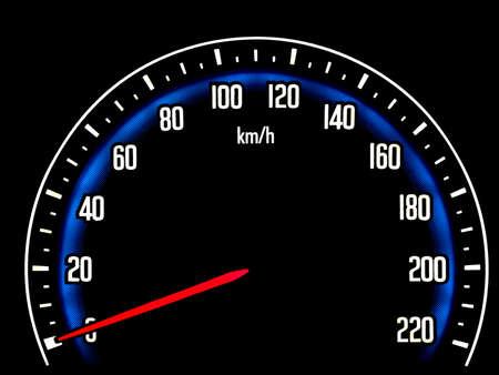 Car Speedometer photo