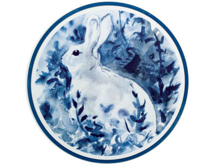 Rabbit,This is a picture, representing the Chinese Zodiac, such as rabbit, ox, and tiger. are one of the traditional Chinese arts and crafts. photo