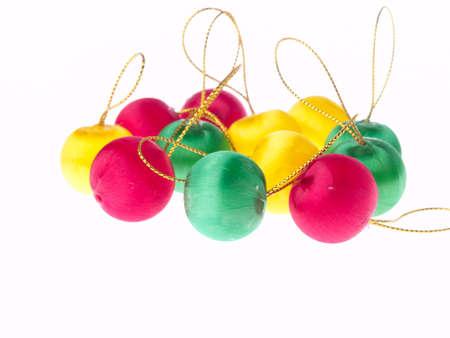 Christmas decoration isolated on white background Stock Photo - 9341827