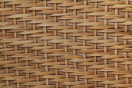 woven surface: Fondo de madera mimbre Foto de archivo