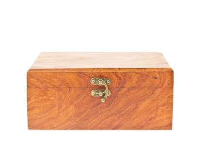 wooden lid: Old wooden box treasure chest