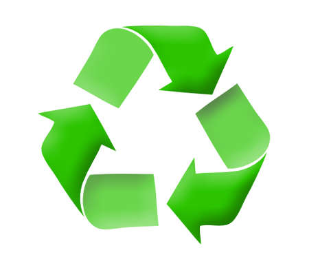 Recycle logo concept Stock Photo