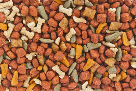 dog food: Dog food background