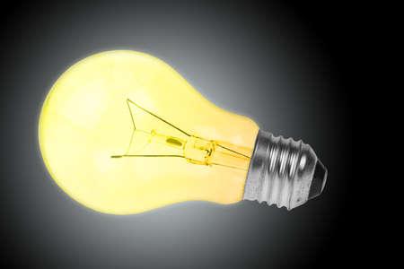Light bulb photo