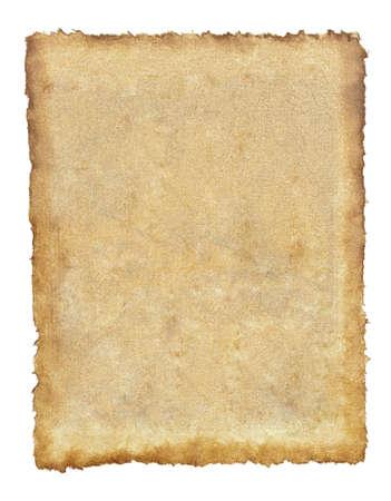 グランジ ヴィンテージ古い布紙シートの背景 写真素材
