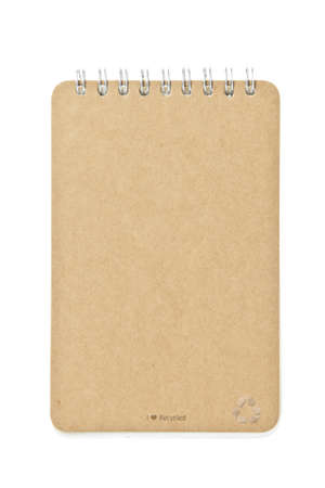 brown color Cover Note Book photo