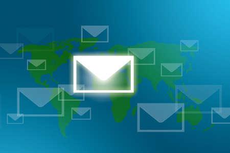 modernity: mail around the world