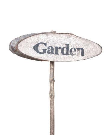 Garden Wood sign photo