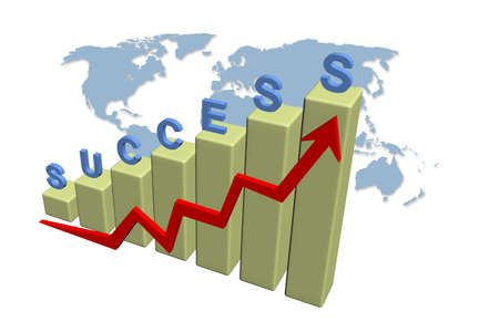 Success graph photo