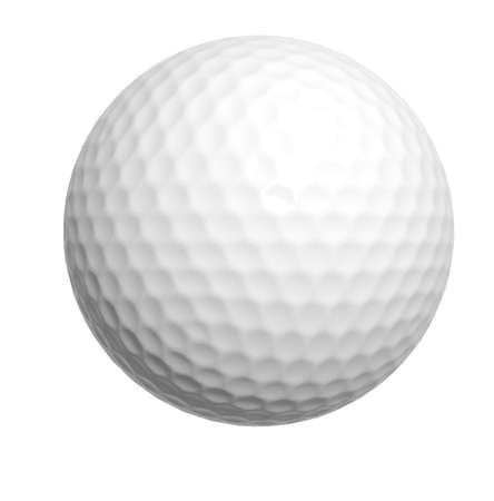 golf ball isolated photo