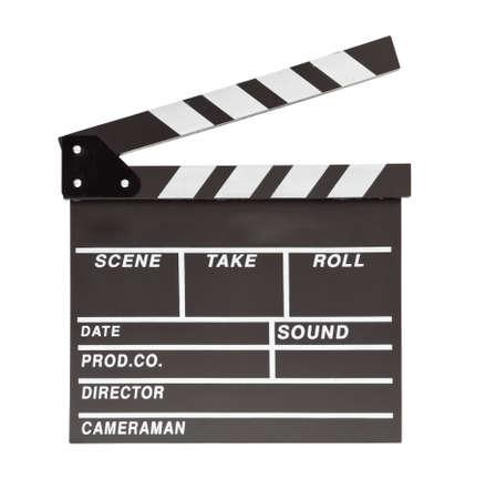 board of director: ciak del film con lo spazio Archivio Fotografico