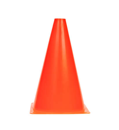 traffic cone isolated photo