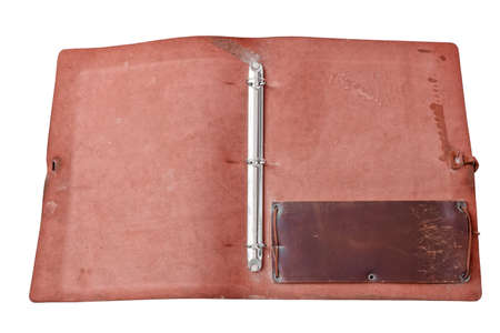 tooled leather: aprire il libro antico in pelle