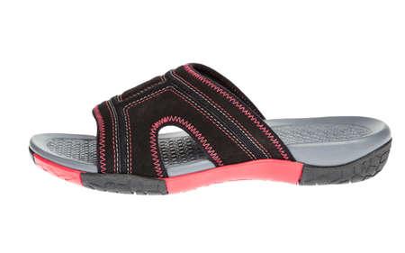 flip flops or sandals isolate on white Stock Photo - 13550747