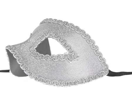 Carnival mask on white photo