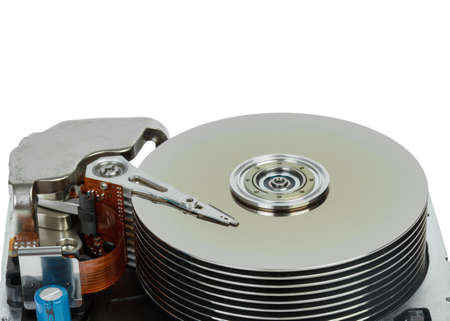 close up of hard disk Stock Photo - 15575812