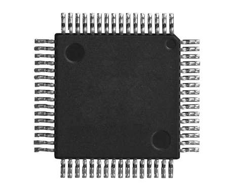 electronic chip photo