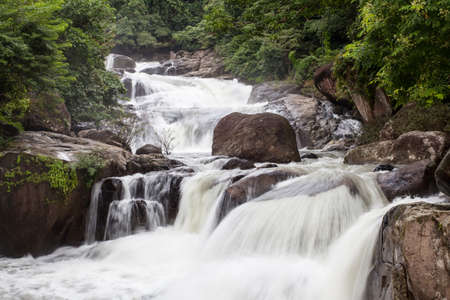 Nangrong waterfall, Thailand photo