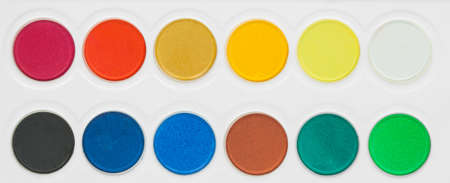 paint colors pallete Stock Photo - 16152752