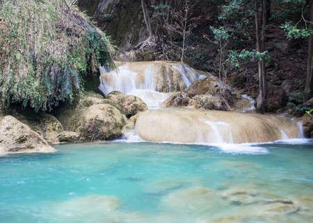 Erawan Waterfall, level 7 Kanchanaburi, Thailand photo