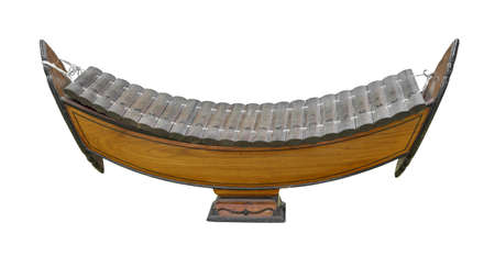 tuneful: Thai wooden xylophone classical music instrument
