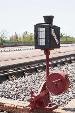 Railway signals photo