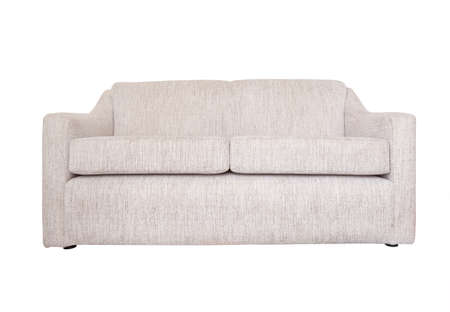 sofa isolated, furniture  on white background photo