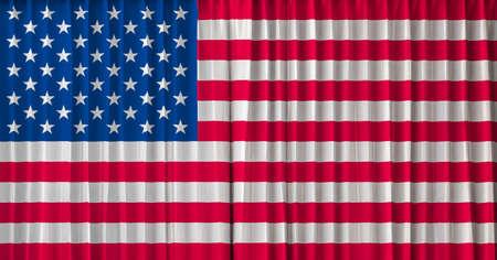 united  states of america: Gli Stati Uniti l'America bandiera sulla tenda