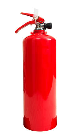 fire extinguisher: fire extinguisher isolate on white background