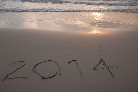 New Year 2014 coming photo
