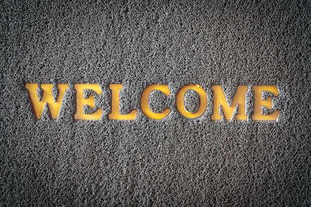 welcome mat: carpet welcome mat