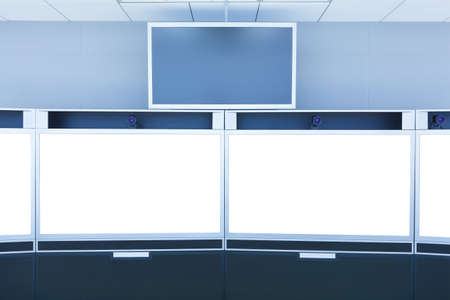 teleconference: teleconference and telepresence screen display