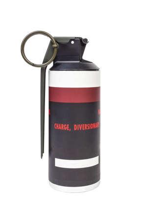frag: MK141 FRAG explosive model, weapon army,standard timed fuze hand grenade on white background