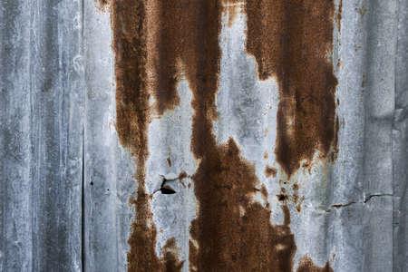 zinc: Rusty Zinc grunge old wall background