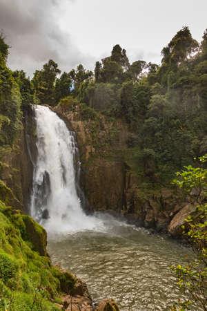 korat: Waterfall names Haew Narok in rainforest at KHAO YAI national park, Thailand.