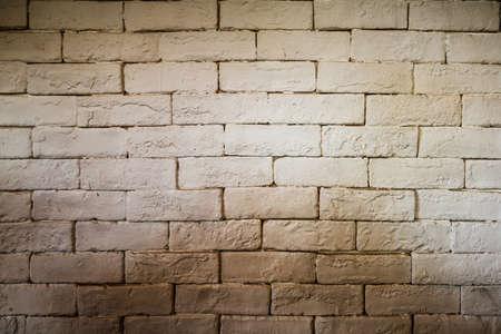 white brick wall grunge texture for background