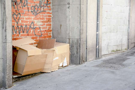 indigence: Bed beggar