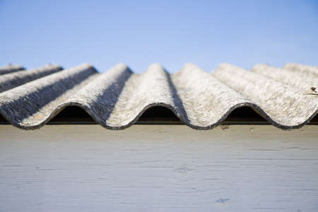 Asbestos roof - danger of asbestos