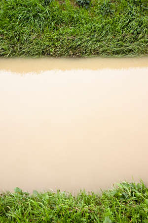 alluvial: Ditch in a field