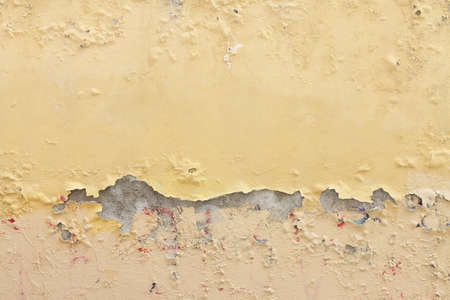 Damaged plaster - Also to express the concepts of: aging, decadence, and so on. photo