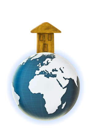 interdependence: The Earth is our home - concept image