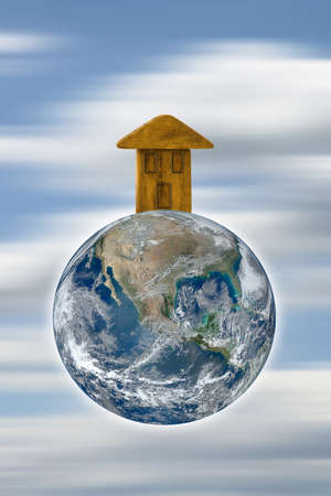interdependence: The Earth is our home -  including elements furnished by NASA