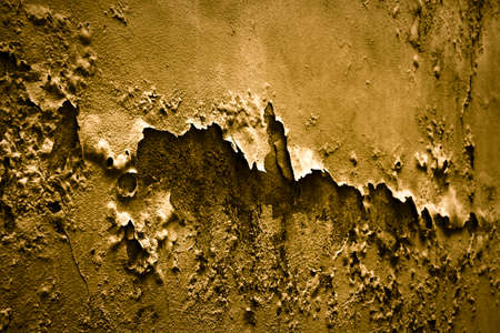 dryness: Degraded plaster. Useful anche image to express the concepts of: aging, decadence, and so on